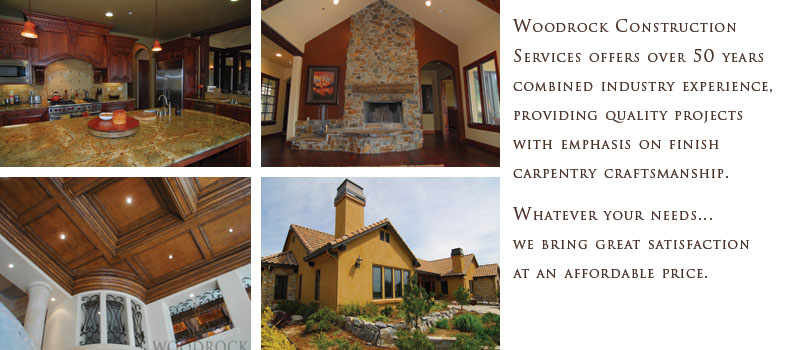 Woodrock provides general contracting, construction management and pre-construction design services for residential and commercial projects.